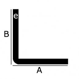 aluminium hoekprofiel ronde hoek