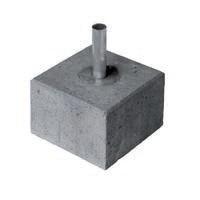 Easyclamp betonblok