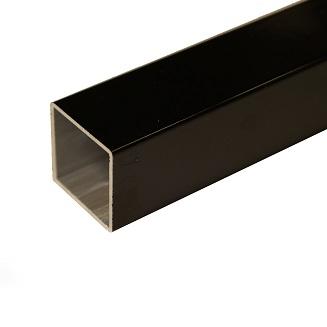 Handy tube zwart aluminium