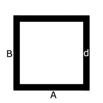 Messing vierkante buis - Messing vierkante koker