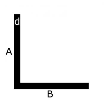Staal L-profiel koudgewalst of warmgewalst