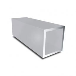 Aluminium vierkante buis geanodiseerd