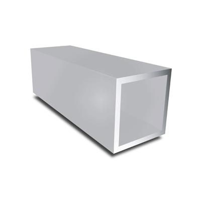aluminium vierkante buis - aluminium koker