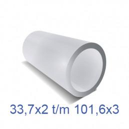 RVS 304 ronde buis (geslepen) groot